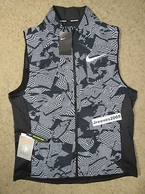 new style 63a70 de10a NWT Nike Essential Flash Running Vest Sz Large 100% Authentic 859214 010