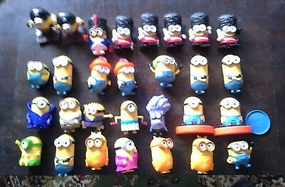 Despicable Me Minions - Bundle Bulk Lot of 29 - McDonalds Happy Meal Toy