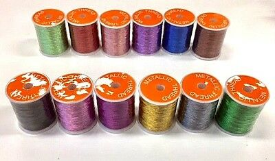 Metallic Thread Package of 12 Colours