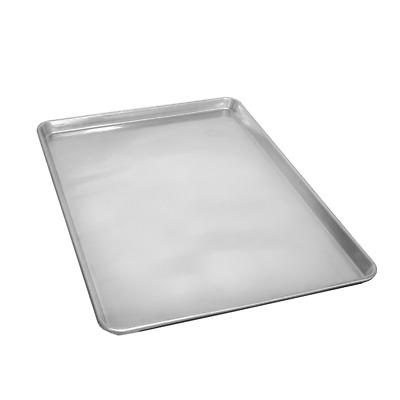 Aluminum Cookie Sheet Large Pan Brownie Rolls Pastries Bread Baking Full Size
