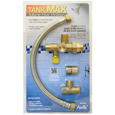 Apollo Tank Max Water Heater Tank Booster 69Tankmax Save Energy Valves Free Ship
