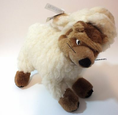 Vintage Mary Meyer Huff & Puff Wolf in Sheep's Clothing Stuffed Animal Plush Tag
