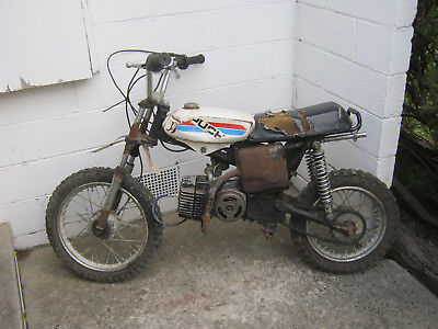 Puch Magnum X Pocket Dirt Bike Motorbike Incomplete For Parts Or Repair