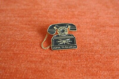 19638 Pin's Pins Telecom Poste Norsk Tele Musueum Sorvagen Norvege Norway Phone