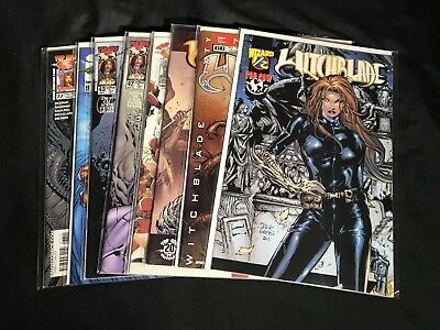 Witchblade (A) Lot Of 8 Mixed Comics Michael Turner Tony Daniel Bachalo