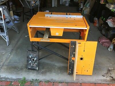 triton mk3 workcentre - Table saw and Router Table