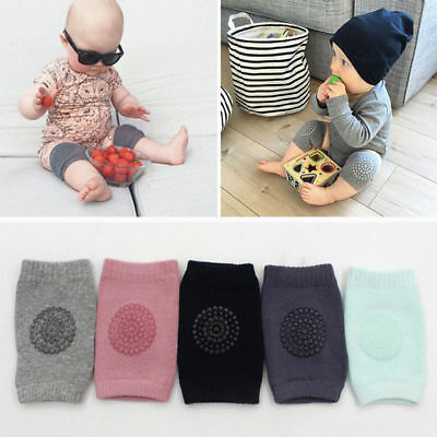 5Pairs Unisex Baby Toddlers Kneepads Adjustable Non-skid Knee Elbow Pads Crawl