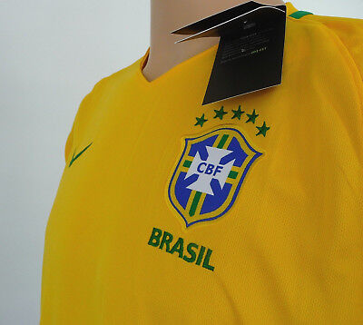 Nike Men's New With Tags Brazil Home Jersey