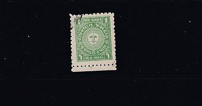 Jasdan Indian State, 1947 sg6 Used