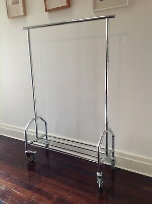 Mobile Clothes Rack .