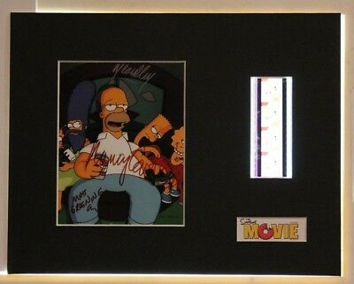 The Simpsons Film Cell Display