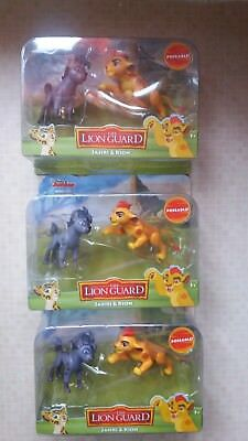 Set of 3 The Lion Guard twin pack figures - brand new sealed