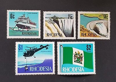 Rhodesia 1970 Industrial Development & Views of the Country Mounted Mint