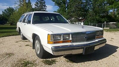 1988 Ford Crown Victoria LTD 1988 Ford LTD Crown Victoria Station Wagon 351 Cop Motor Police Package