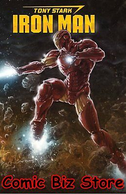Tony Stark Iron Man #1 (2018) 1St Printing Connecting Party Variant Cover Marvel