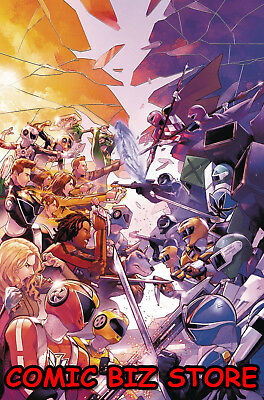 Mighty Morphin Power Rangers #28 (2018) 1St Printing Campbell Cover A Boom