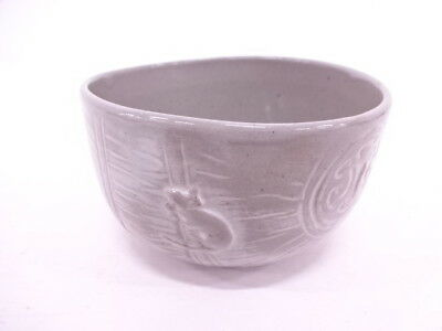 90997# JAPANESE TEA CEREMONY / CHAWAN(tea bowl) / MOUSE WITH RICE BAG / ARTIST'S