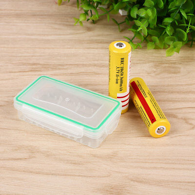 Hard Plastic Waterproof Storage Box Case Protection For 18650 18350 Battery,