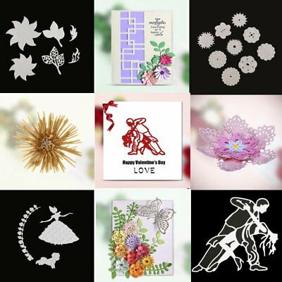 Metal Cutting Dies Emboss Stencils Card Paper Craft Scrapbooking Album Decor DIY
