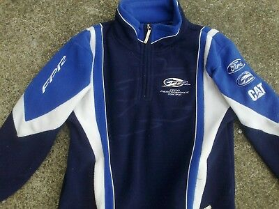 cute kids size Ford Performance Racing fully sponsored FPR supercars jacket