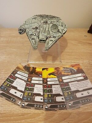 Star Wars X-Wing Miniatures Millennium Falcon Expansion Pack