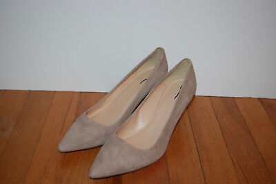 a2a916ebf0 JCrew $198 Dulci Suede Kitten Heels Sz 10 Kraft Brown Shoes A9758 AVL