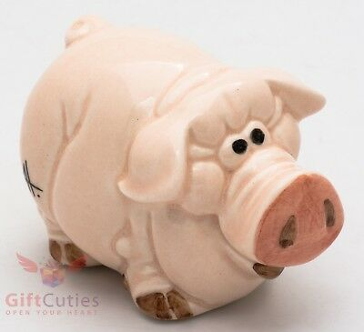 Porcelain Pig Piglet figurine handmade in Russia Symbol of 2019 New Year