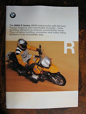 BMW Motorcycles 43 Page Brochure