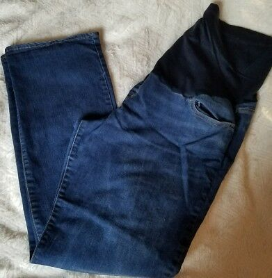 Maternity Jeans size 18 Liz Lange for Target EUC medium Wash Boot Cut