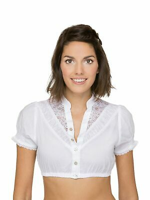 Stockerpoint Dirndl Blouse B4020 White