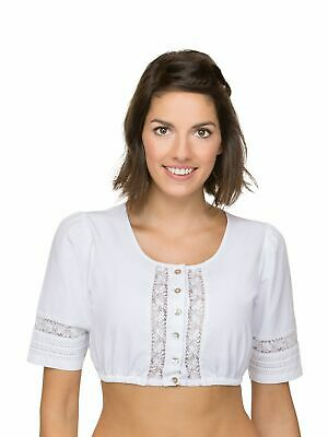 Stockerpoint Dirndl Blouse B7092 White