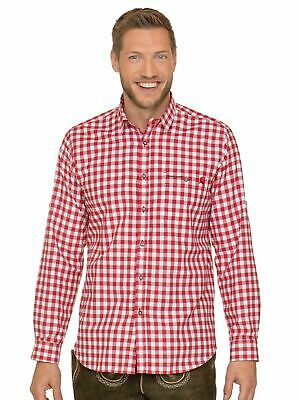 Stockerpoint Traditional Shirt Hiking Shirt Checked Mitchel Red