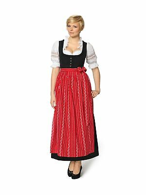 Stockerpoint Traditional Costume Dirndl Apron 90cm SC195 Red
