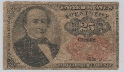 U.S. 25 Cents Fractional Currency Series 1874