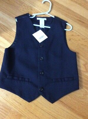 NWT Janie And Jack Special Occasion Boys Vest, Size 6
