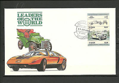 St Lucia : 1984 Leaders of the World , FDC Erhaltung ( siehe Abb. )