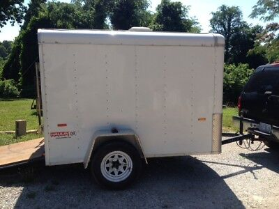 5x8 Enclosed trailer Haulin Trailer