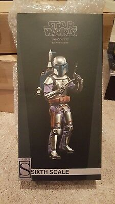 Sideshow Collectibles Exclusive Star Wars Jango Fett 1/6 scale figure
