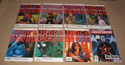 Judge Dredd The Megazine Issues 1-8 inc First Issue Original Monthly Series