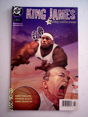 King James DC/Powerade Comic Book 2004 Coca Cola LeBron James