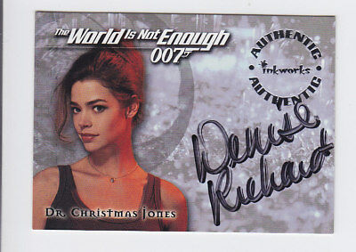 1999 Inkworks James Bond The World Is Not Enough Promos #DW1