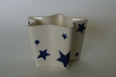 Emma Bridgwater STARRY SKIES Pentagonal Candle holder (no candle)
