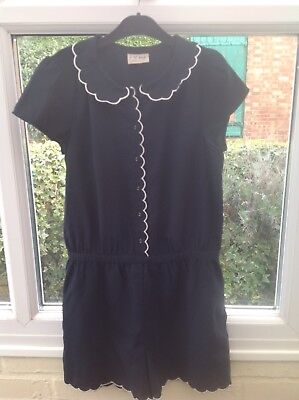 Next Girls Navy Blue Short Outfit Size 12 Years