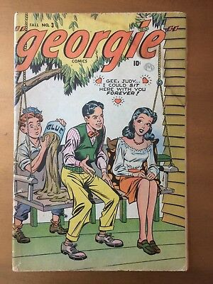 Georgie Comics 3 from 1945 - Timely/Atlas - Marvel's version of Archie?