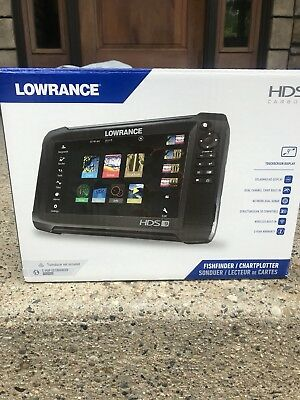 New Lowrance Carbon HDS 9 Sonar Save $300