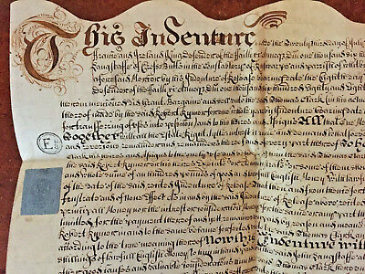 1695 William 111 Indenture Assignment of Property in Whitby - Clark, Langstaff