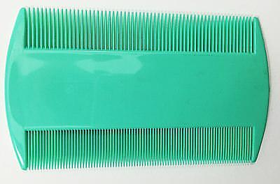 2X Head Lice Nit Comb Say Lice Good bye With Smooth Edge & High Quality Plastic