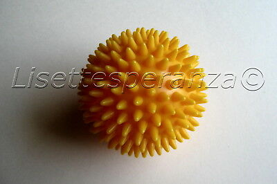 Spiky Massage Ball Yellow Physio Pain Rehab Trigger Point Physical Therapy