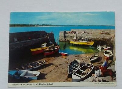 Fethard on Sea Co Wexford The Harbour Ireland Postcard