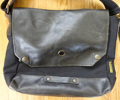 AJ ARMANI JEANS Small Messenger Shoulder Cross body Bag Black Nylon Men s  Travel 8b90e37c8d